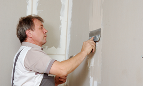 $480 for 8 Hours of Drywall or Plaster Repair