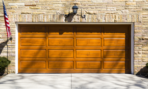 $225 Spring Replacement on a Two-Car Garage Door