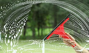 $419 Interior and/or Exterior Window Cleaning (Up to 34 Windows)