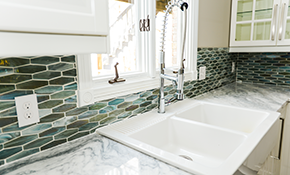 $121 for Kitchen or Lavatory Faucet Replacement