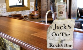 $269 for a Custom-Crafted Rock (Natural Shaped) Beverage Dispenser