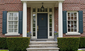 $1,850 for Premium Custom Entry and Storm Door Package