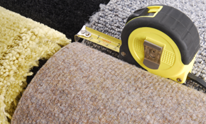 $629 for 350 Square Feet of Commercial Grade Loop Carpet with Pad and Installation