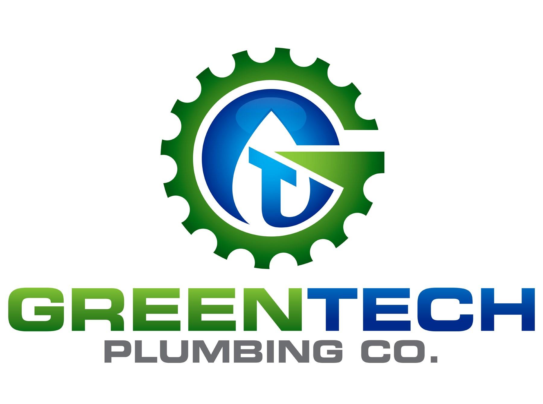 Green Tech Plumbing Co logo