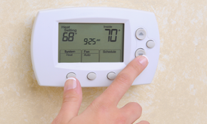 $225 for a New Programmable Thermostat Installed