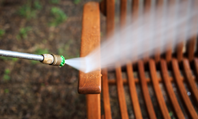 $100 for 500 Square Feet of Deck Pressure Washing