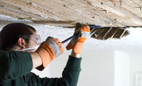 $1,999 for 4 Rooms of Acoustic Popcorn Ceiling Removal, Re-Texturing, Sanding, Priming, and Re-Painting