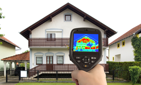 $199 Energy Evaluation with Thermal Scan & Blower Door Test