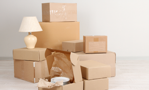 $840 for a Moving Truck, 3-Person Crew for up to 5 Hours (+1 Hour of Travel), and 10% off Rental Packing Kits