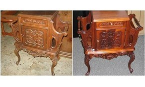 $129 for $200 Worth of Furniture or Piano Wood Restoration, Repair, or Refinishing