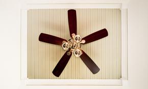 $100 Ceiling Fan Installation