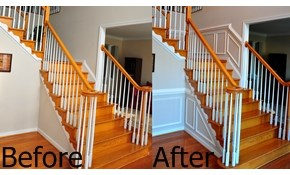 20% off Chair Rail, Crown Mold and Wainscoting Installation & MORE!