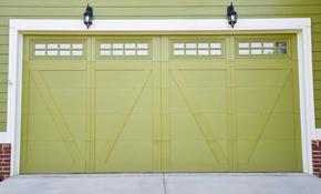 $135 Garage Door Tune-Up