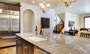 $1,750 for Custom Granite Countertops--Labor and Materials Included