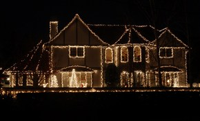$500 for Holiday Landscape Lighting, Hanging and Removal