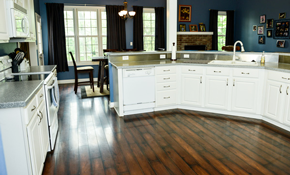 $4,200 for 505 Square Feet of Indusparquet Brazilian Chestnut Flooring Installed With Matching Shoe Molding