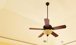 $150 Ceiling Fan Installation