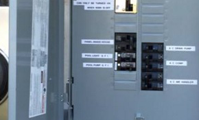 $1,275 for an Outdoor Main Breaker Panel Replacement