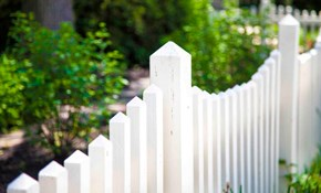 $4,200 for 200 Linear Feet of White PVC Privacy Fencing