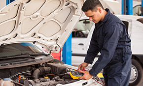 $49.95 for Oil Change, Tire Rotation, Alignment Check, Diagnostic Check and Battery Testing