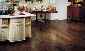 $405 for 150 Square Feet of Hardwood Floor Sanding and Refinishing