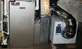 $1800 for Aprilaire Dehumidifier With Condensation Pump Installed