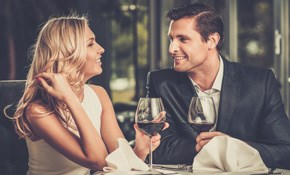 $360 for a Romantic Dinner for Two with a Professional Chef