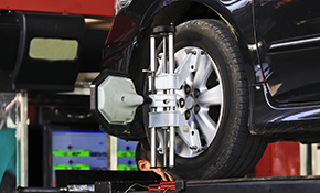 $112.95 for a 4 Wheel Alignment
