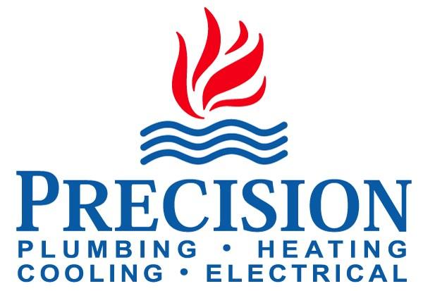 Precision Plumbing Heating Cooling & Electric logo