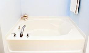$399 Bathtub Refinishing with Non-Slip Surface