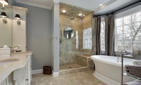 $3,500 for Remodeling a Ceramic Tile Shower, Including Labor