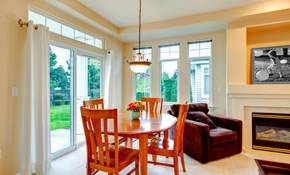 $1,799 for a Sliding-Glass Patio Door Installed, With Lifetime Warranty
