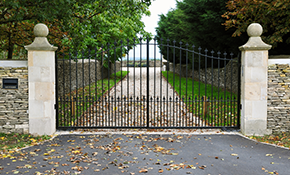 $650 for $750 Credit Toward a New Driveway Gate Plus Gate Operator Project