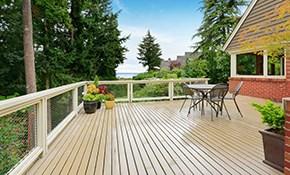 $69 for Deck Maintenance Evaluation