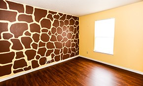 $310 for 3 Rooms of Interior Painting
