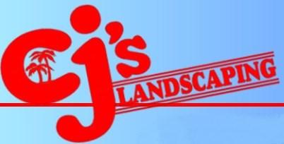 CJ'S Landscaping logo