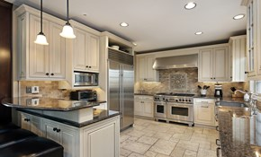 $3,599 for Custom Quartz Countertops--Labor and Materials Included