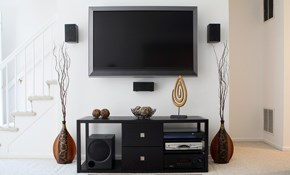 $178 for Two Hours of Audio-Video Installation Services