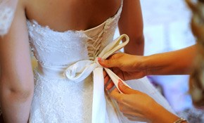 $21.50 for 2 Dresses Dry Cleaned, Including Pick-Up and Delivery