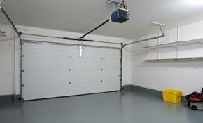 $1,200.00 for a New Garage Door and Garage Opener Installed