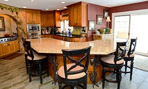 $99.99 for a Kitchen or Bathroom Design Consultation with 3-D Renderings