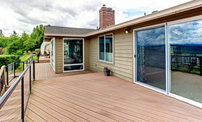 $399 Deck Restoration including Clear Waterproof Sealant