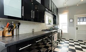$900 Backsplash Installation - Travertine, Glass, Marble, Ceramic Tile