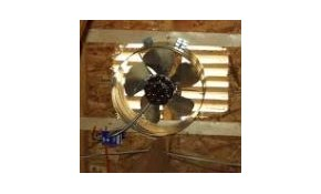 New Attic Fan with Built-In Thermostat for ONLY $299!
