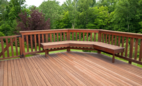 $5700 for a 12' x 16' Custom Wood Deck Installation