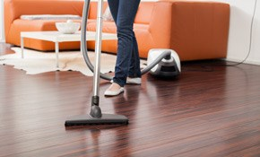 $851 for Up to 500 Square Feet of Hardwood Floor Cleaning
