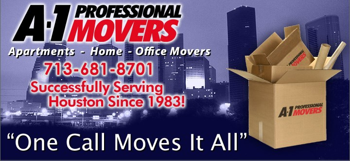 A-1 Professional Movers logo
