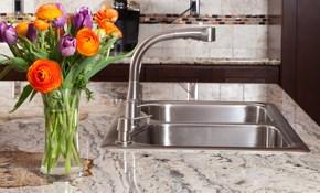 $1,755 for Custom Granite Countertops Installed Plus Design Consultation