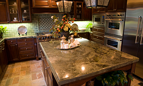 $129 for Granite or Marble Cleaning, Polishing and Sealing