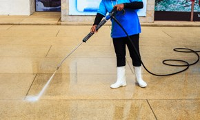 $199 Gutter Cleaning or Driveway Pressure-Washing